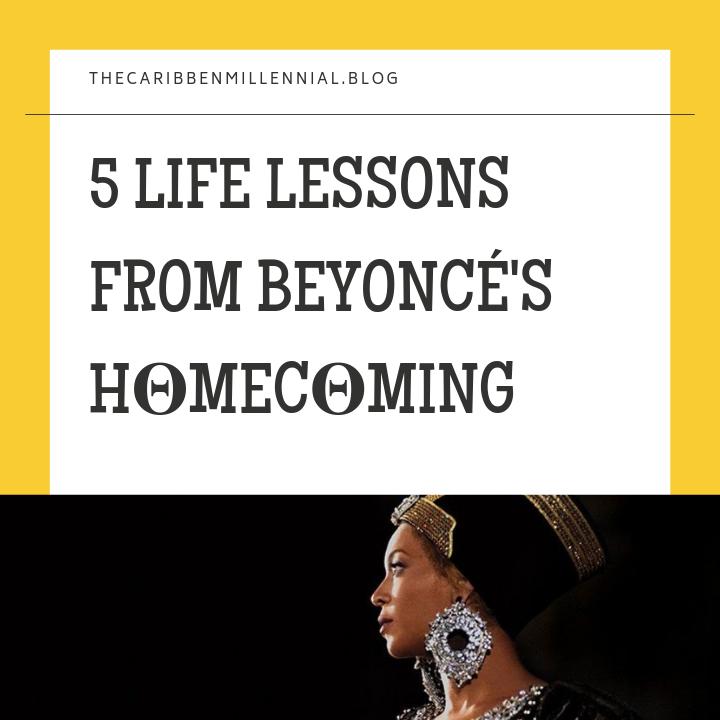 5 LIFE LESSONS FROM BEYONCÉ'SH𝚯MEC𝚯MING